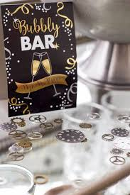 New Years Eve Bar Decorations by A New Year U0027s Eve Party Bubbly Bar Party Tips So Much Better