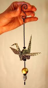 origami crane ornament best 20 paper cranes ideas on