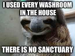 Sloth Meme Maker - creepy sloth memes imgflip