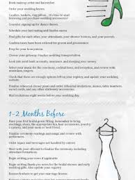 complete wedding checklist wedding planner infographics visual ly