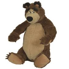 masha bear 25cm soft toy toys