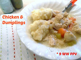 simple chicken u0026 dumplings 9 weight watchers points plus value
