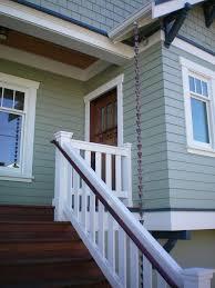 Craftsman Sconces Seattle Exterior Door Trim Entry Craftsman With Handrail Motion
