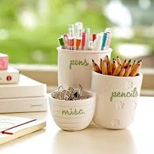 Ceramic Desk Accessories Creative Ways To Store Pencils Back To School Kidspace Interiors