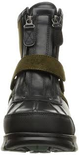 polo ralph lauren men u0027s cnqst hi i boot black olive shoes boots