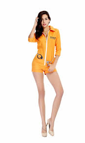 convict halloween costumes online get cheap orange prisoner costume women aliexpress com