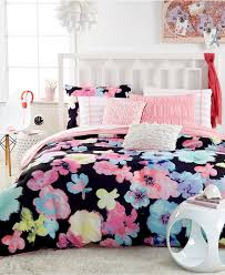 Girls Pink And Black Bedding by Attractive Black And Pink Bedspreads For Teenage Girls Of