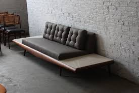 on deck mint adrian pearsall mid century modern platform sofa