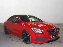 car mercedes red used mercedes benz cla class saloon diesel in jupiter red from
