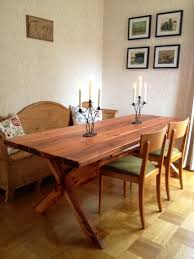 large dining table 6 steps with pictures