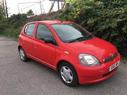 used toyota yaris 2002 for sale motors co uk