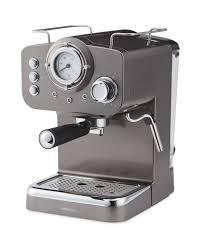espresso maker ambiano gunmetal espresso maker aldi uk