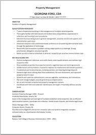 Social Worker Resume Sample Templates by Property Management Resume Samples Free Resume Example And