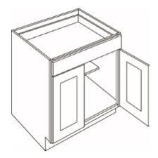 oak kitchen cabinet base b27 1 drawer 2 door base cabinets country oak honey