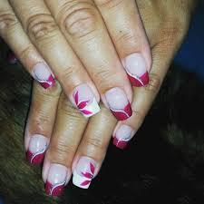 23 designs for pink and white nails pretty pink nail design with