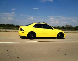 lexus yellow lemon