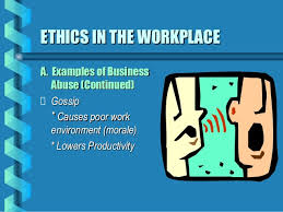 essay on ethics in the workplace     Studentnis org