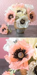 Paper Flowers Video - crepe paper poppies video tutorial tutorials patterns and