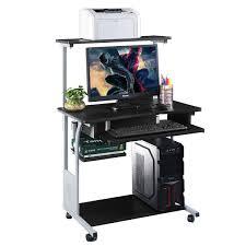 Laptop And Printer Desk by Corner Computer Desk L Shaped Workstation Desks Office