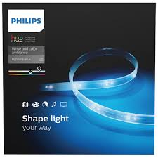 philips hue light strip behind tv philips hue 2m 6 5 ft led lightstrip plus smart lights best