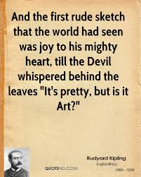 rudyard kipling art quotes quotehd