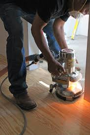 refinishing wood floors a floor edger