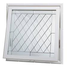 Window Awnings Home Depot Tafco Windows 32 In X 32 In Awning Vinyl Window White