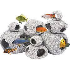 Betta Fish Decorations Penn Plax Stone Replica Aquarium Decoration Realistic Granite Look