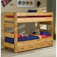 palomino cinammon rustic loft bed rc willey furniture store