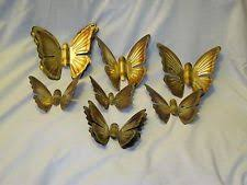 home interior wall hangings brass butterfly variety vintage home interior wall decor by