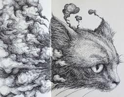cat moleskine sketch on behance