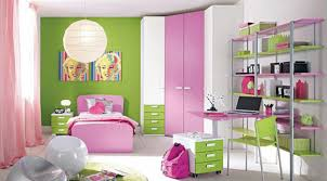 Pink Themed Bedroom - bedroom design ideas rectangle white painted wood study desk