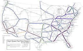 Boston Rail Map by I Designed A Pipe Dream Map Of High Speed Rail In The Continental