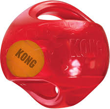 kong jumbler ball dog toy color varies large x large chewy com