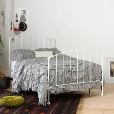 Twin Iron Headboard by White Metal Headboard Full 3 Outstanding For Braden Iron Bed By