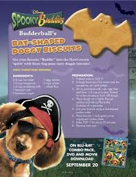 disney spooky buddies halloween dog biscuit recipe free