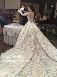 wedding dress indonesia strapless wedding gowns batik wedding gowns