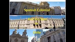 colonial architecture colonial architecture at plaza de armas in santiago chile