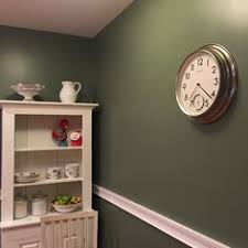 laundry room with sherwin williams olive grove walls it u0027s all