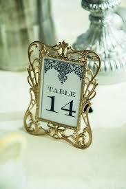 Vintage Table Number Holders 193 Best Table Numbers Escort Cards Images On Pinterest
