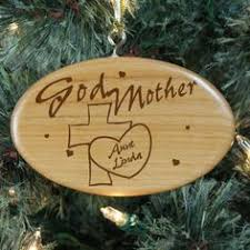 engraved godfather oval glass christmas tree ornaments create a