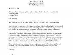 Medical Admin Cover Letter How To Address A Cover Letter Without A Contact Images Cover
