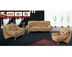 Modern Sofa Bed Design Design Modern Sofa Set In Beige Finish 33ss91