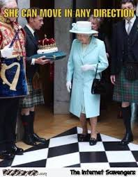 Queen Elizabeth Memes - queen elizabeth can move in any direction funny meme pmslweb