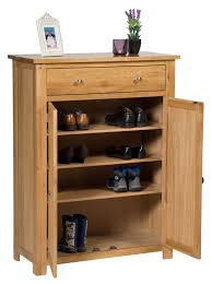 Oak Storage Cabinet Waverly Oak Storage Cupboard Shoe Cabinet Hallowood