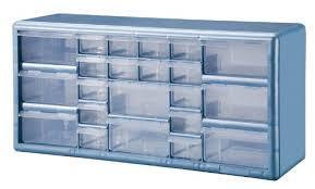 Parts Cabinets Stack On Dslb 22 22 Bin Plastic Drawer Parts Storage Organizer