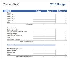 Corporate Budget Template Excel Sle Grant Budget Template Exle Of Budget Sle