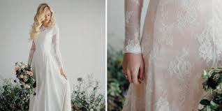 sleeve modest wedding dresses 25 modest wedding dresses with sleeves lds daily