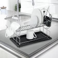 Dish Racks Wayfaircouk - Kitchen sink dish rack