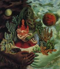 Mexican Love Quotes by The Lifting Of The Veil Frida Kahlo The Love Embrace Of The
